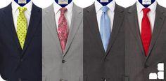 Antes de te dar a dica, você deve lembrar que existem gravatas para diversas ocasiões, ou eventos. Se você e uma pessoa de estatura alta e magra optem por usar gravatas com riscas diagonais, e use um nó menor como meio windsor.