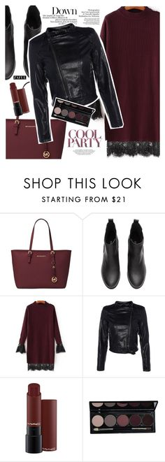 """Cool party"" by vanjazivadinovic ❤ liked on Polyvore featuring Michael Kors, polyvoreeditorial and zaful"