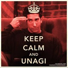 keep calm and unagi . The only keep calm sign I like! Friends Moments, Friends Tv Show, Friends Forever, Friends Series, I Love My Friends, True Friends, Best Friends, Friends Cake, Funny Friends