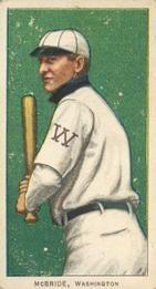 1909-11 The American Tobacco Company T206 White Border #312 George McBride Front