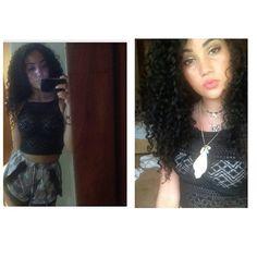 I miss my old hair so much omg #lbloggers #curlyhair