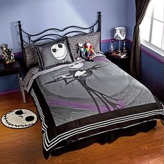 Nightmare before Christmas Bedroom decor, since I'm sure one of my munchkins will share my love for Jack.