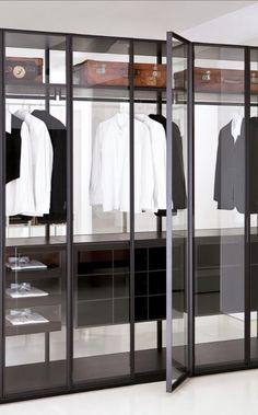 Made in Italy, project by Piero Lissoni for Porro: Air wardrobe. #piso18casa…