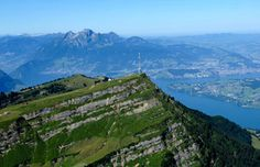 Views from Mt. Rigi: You can see 6 lakes from Mt. Rigi and 9 cantons! Rigi is like a peninsula, located on the edge of the Prealps between Lake Lucerne, Lake Zug and Lake Lauerz. Cinque Terre Italy, Seen, Restaurant, Travel Information, Homeland, Lakes, Switzerland, Destinations, Mountains