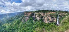 Salto del Duende- Mesa de Los Santos-Santander- Colombia
