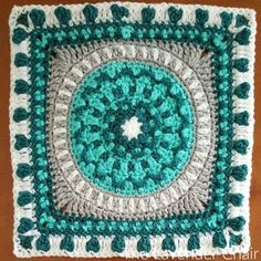 This is square #7 of the Mandala Blanket CAL Add to your Favorites/Queue on Ravelry Materials: Lion Brands Vanna's Choice (Worsted Weight Yarn) I 5.50mm Crochet Hook Yarn Needle Difficulty: Experienced Gauge: 4Hdc = Approx 1 inch Size: 12″ x 12″ Stitches: CH: Chain- Yarn over pull through one loop. SS: Slip stitch- Insert hook …
