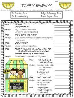 kinds of sentences identifying part 1 intermediate board pinterest kinds. Black Bedroom Furniture Sets. Home Design Ideas
