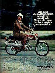 Anúncio moto Honda (1973)