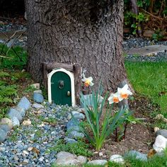 make fairy house from twigs | ... along with a couple of flowering plants to form the fairy garden