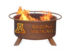 The Fire Pit Store - Patina Products - University of Arizona College Fire Pit - F401, $249.99 (http://www.thefirepitstore.com/patina-products-university-of-arizona-college-fire-pit-f401/)