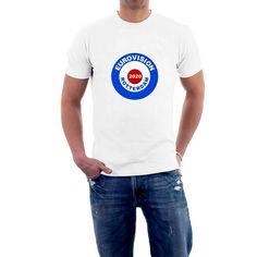 EUROVISION ROUNDEL T-shirt TARGET ESC Eurovision Netherlands Rotterdam 2020 Tee T Shirts, Printed Shirts, Tees, Holland Netherlands, New T, Rotterdam, New Shoes, Order Prints, Target