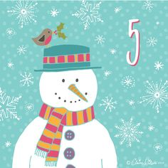 Advent Calendar 2014-05 claire wilson designs