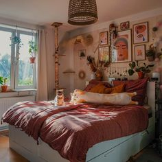 Room Design Bedroom, Room Ideas Bedroom, Home Bedroom, Bedrooms, Aesthetic Room Decor, Cozy Room, Dream Rooms, My New Room, House Rooms