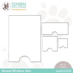 Simon Says Stamp BIG PICTURE BOOK FOX Wafer Dies s569 at Simon Says STAMP! Fox Crafts, Circle Crafts, Christmas Cards To Make, Christmas Tree, Wafer Thin, Shrink Plastic, Simon Says Stamp, Large Flowers, Card Stock