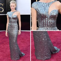 Best dressed nominee for the 2013 Oscars Naomi Watts in Armani Prive