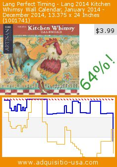 Lang Perfect Timing - Lang 2014 Kitchen Whimsy Wall Calendar, January 2014 - December 2014, 13.375 x 24 Inches (1001741) (Office Product). Drop 64%! Current price $3.99, the previous price was $10.95. http://www.adquisitio-usa.com/lang/perfect-timing-2014-43