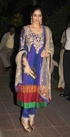 Sridevi in all her beauty in #Anarkali