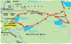 LancashireWalks.com - Hurstwood Walks, It Is Finished, Green, Woking