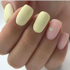 yellow Acrylic short square nails design for summer nails, matte yellow Short square nails color ideas, Natural gel short square nails design, Pretty and cute acrylic nails design Nägel Acryl Quadrat<br> Cute Acrylic Nail Designs, Valentine's Day Nail Designs, Square Nail Designs, Cute Acrylic Nails, Matte Nails, Acrillic Nails, Bling Nails, Yellow Nails Design, Yellow Nail Art