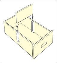 Drawer Dividers - Hardware