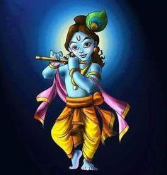 "211 Likes, 2 Comments - HareKrishna (@kavitakundnani) on Instagram: ""#LordKrishna #HareKrishna"""