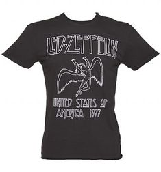 NEW /& OFFICIAL! Led Zeppelin /'USA 1977/' Kids T-Shirt Amplified Clothing