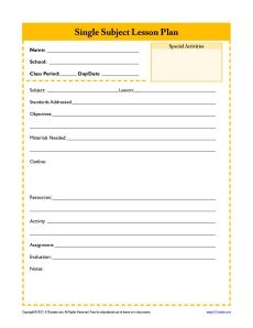 21 best lesson plan record keeping templates images teacher