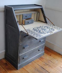 A vintage writing bureau. A labour of love with a nice suprise inside.