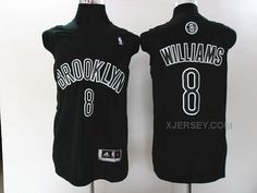 http://www.xjersey.com/brooklyn-nets-8-williams-black-jerseys.html Only$34.00 BROOKLYN #NETS 8 WILLIAMS BLACK JERSEYS #Free #Shipping!