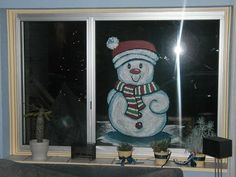 Foto dateert van 15 December 2003 15 December, Window Cards, Christmas Paintings, Creative Kids, Art Drawings, Doodles, Windows, School, Classroom