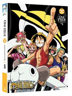 One Piece DVD Collection 8 (Hyb) (Eps 183-205) Uncut One Piece  #RightStuf2014.
