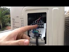 Ligação elétrica Ar condicionado Fujitsu (Serie G) Interligação elétrica