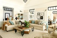 Rossi House, Laurie Rossi Interiors - traditional - living room - new york - Tom Grimes Photography