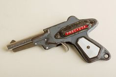 Beautiful Vintage boy toy gun / Polish toy by TuTuVintageBeautiful