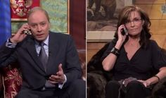 Sarah Palin joined Jimmy, who played Putin and we see what happened after he and Barack Obama hung up the phone from their call several weeks ago.