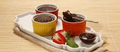Mini brownies no microondas 8 minutos