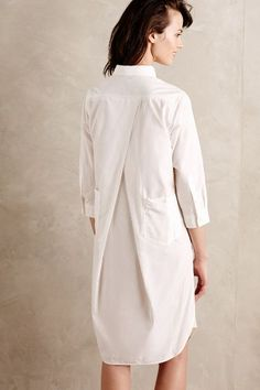 Enso Shirtdress - how beautiful is his dress?!! Not sure it would work with my curves but for a slender woman this would be stunning