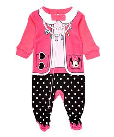 Look at this Minnie Mouse Costume Footie - Infant on #zulily today!