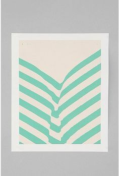 UrbanOutfitters.com > Matthew Korbel Bowers For Society6 Park Plants Art Print  Matches Cash's room color:)
