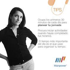 Tips Planear tu Jornada - Manpower Perú