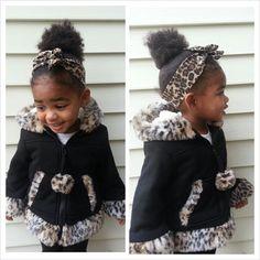 Childrens Headband  Womens Headband  Leopard by VarietyCouture, $6.99