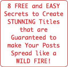 How to Craft Post Titles that Draw Readers Into Your Blog - ProBlogger