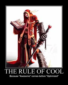 Image result for the rule of cool