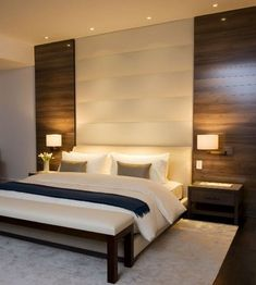 23 Comfy Relaxing Bedroom Design Ideas Luxury Home - Page 13 of 25 Luxury Bedroom Design, Modern Master Bedroom, Master Bedroom Makeover, Stylish Bedroom, Master Bedroom Design, Minimalist Bedroom, Home Decor Bedroom, Bedroom Ideas, Bedroom Designs