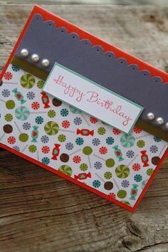 Happy Birthday Card candy happy birthday card by APeekaBooBoutique, $5.25
