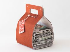 Old News gives your old newspapers a stylish home.