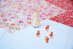 Ministempel - Stempel Katze - ein Designerstück von suparina bei DaWanda