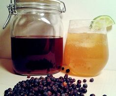 DIY Compound Gin. I want to make this! Perfectly legal, too; no distillation involved :)