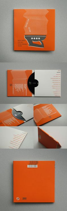 CDs / artwork & booklet on Behance. If you want to customize a good-looking CD packaging, visit www.unifiedmanufacturing.com.