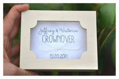 Personalized ring bearer box with a glass lid, Mr & Mrs ring box, wedding box, wedding ring box,ring bearer pillow alternative ,ring holder Personalised Wooden Box, Personalized Rings, Personalized Wedding, Wedding Ring Box, Wedding Boxes, Mrs Ring, Ring Bearer Box, Wooden Boxes, Save The Date
